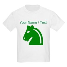 Custom Green Chess Knight T-Shirt