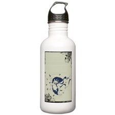 Japanese Thunder God Water Bottle