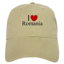 """I Love Romania"" Baseball Cap"