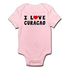 I Love Curacao Infant Bodysuit