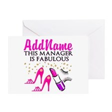 PERSONALIZE MANAGER Greeting Card