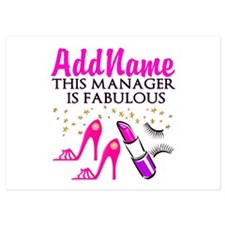 PERSONALIZE MANAGER Invitations