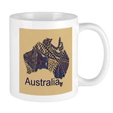 Customizable Australia Souvenir Decorative Map Mug