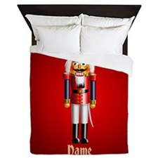 Cute Happy new year merry christmas Queen Duvet
