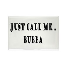 Call Me Bubba Rectangle Magnet (10 pack)