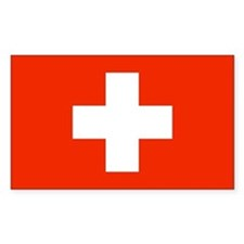 Swiss Flag Decal