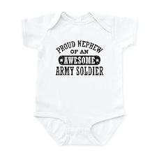 Proud Army Nephew Infant Bodysuit