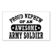 Proud Army Nephew Decal