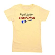 Dip Me In Choc Bass Girl's Tee