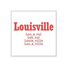 Louisville Sticker