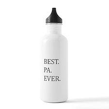 Best Pa Ever Sports Water Bottle