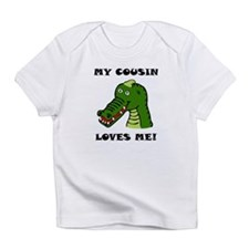 My Cousin Loves Me Alligator Infant T-Shirt