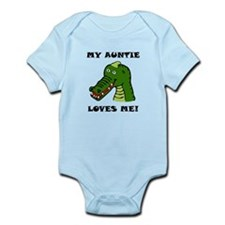 My Auntie Loves Me Alligator Body Suit