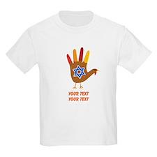 Personalize Thanksgivukkah T-Shirt