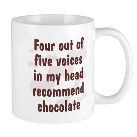 Chocolate Voices Mug