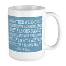 Gay People Clinton Quote Mug