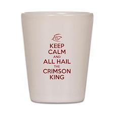 Keep Calm #1 Shot Glass