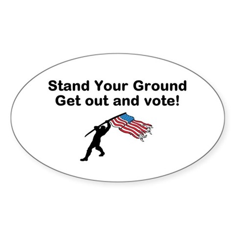 Your Vote is your weapon Decal