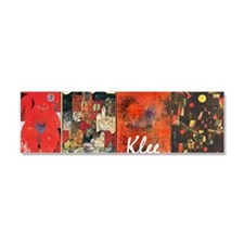Paul Klee Montage Car Magnet 10 x 3