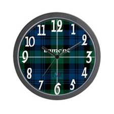 Lamont Clan Wall Clock