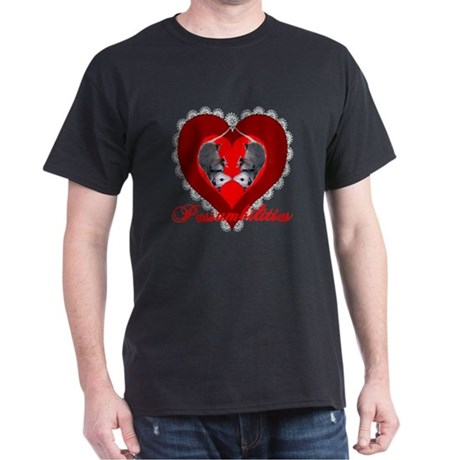 Possumbilities Valentines Day Dark T-Shirt