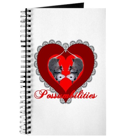 Possumbilities Valentines Day Journal