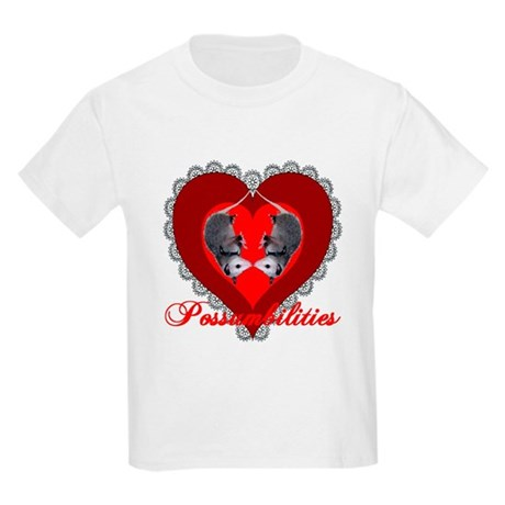Possumbilities Valentines Day Kids T-Shirt