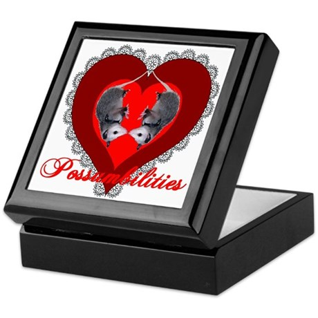 Possumbilities Valentines Day Keepsake Box