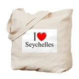 """I Love Seychelles"" Tote Bag"