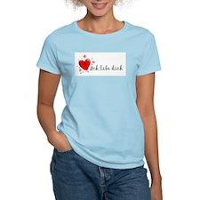 """""""I Love You"""" [Yiddish] Women's Pink T-Shirt"""