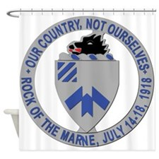 DUI - 30th Infantry Regiment, 1st Battalion Shower