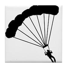 BASE Jumper / Skydiver Tile Coaster