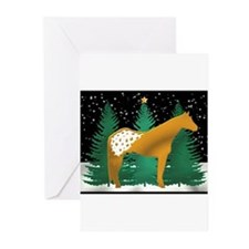 Golden Appaloosa Greeting Cards