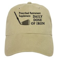 Daily Dose Of Iron Golf Baseball Cap