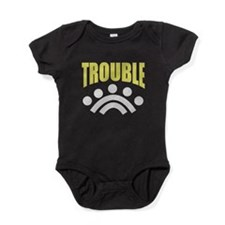 trouble (match with DOUBLE) Baby Bodysuit