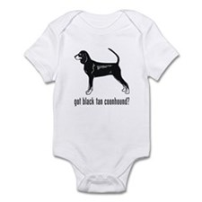 Black Tan Coonhound Infant Bodysuit