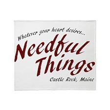 Needful Things (LRD #7) Throw Blanket