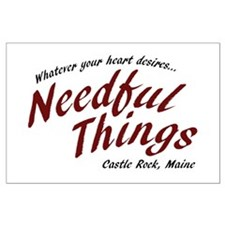 Needful Things (LRD #7) Large Poster
