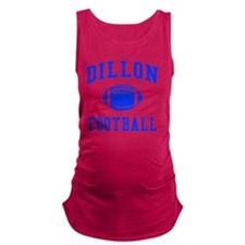 Dillon Football Maternity Tank Top