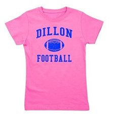 Dillon Football Girl's Tee