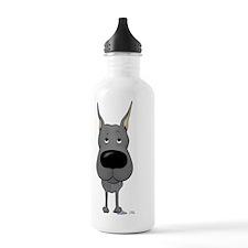 DaneBlueShirtFront Water Bottle