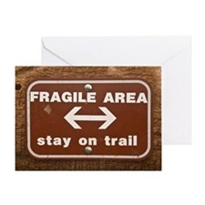 2-Fragile17by11 Greeting Card