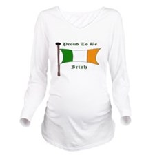 proud to be Irish co Long Sleeve Maternity T-Shirt
