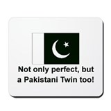 Pakistani Twins-Perfect Mousepad