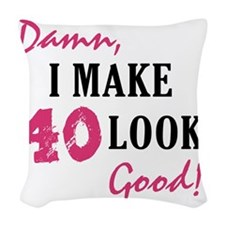 good40_light Woven Throw Pillow
