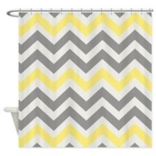 Chevron Shower Curtains | Chevron Fabric Shower Curtain Liner