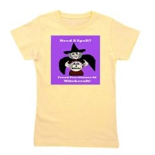 witch crystal copy Girl's Tee