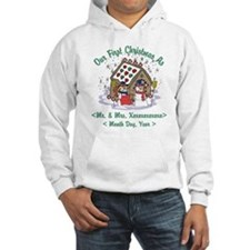 Personalized First Christmas As Mr & Mrs Hoodie