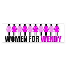 Women for Wendy Davis Bumper Sticker