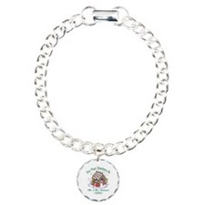 Personalized First Christmas As Mr & Mrs Bracelet